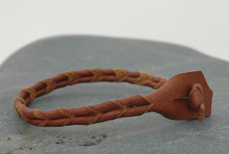Barktanned bracelet, more Esty product